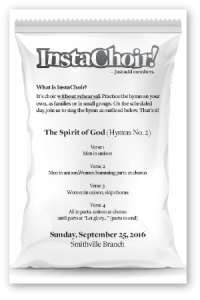 InstaChoir Notice